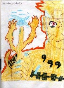 Dessin naruto rasen shuriken kurama no cr a 39 - Shuriken dessin ...